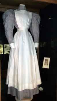 Nurses uniform florence nightingale museum uniform 1890's