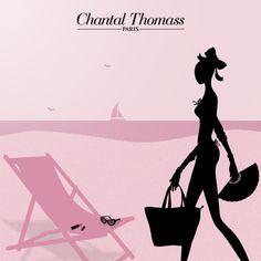 summer 2014 illustration by Chantal Thomass