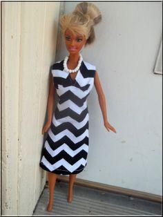 Barbie Doll Clothes Knit Sleeveless VNeck by BarbieBoutiqueBasics