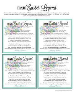 Freebie - Easter M&M Poem Printable   Scribd