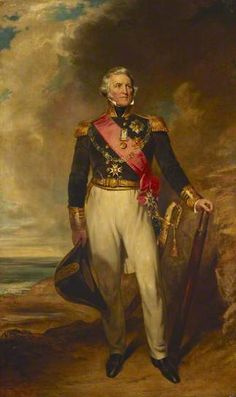Portrait of Admiral Sir Philip H. Calderwood Durham (1763–1845), 1844 by John Wood (British 1801–1870)
