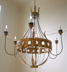 Vanessa chandelier by Julie Neill, New Orleans