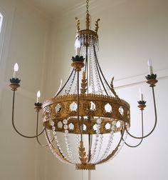 Vanessa chandelier by Julie Neill, New Orleans