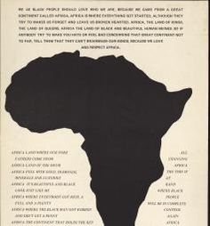 Political Posters, Labadie Collection, University of Michigan: We as Black People should love who we are