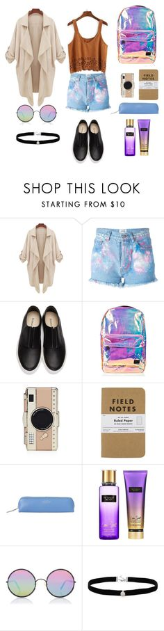"""""""NY young girl"""" by loustjohn ❤ liked on Polyvore featuring Forte Couture, Primury, Spiral, Kate Spade, Smythson, Victoria's Secret, Sunday Somewhere and Amanda Rose Collection"""