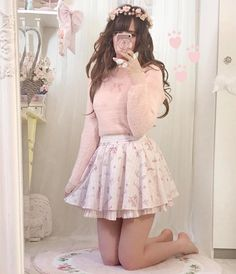 Himekaji Liz Lisa Source by janakiwus clothes Gyaru Fashion, Pastel Fashion, Harajuku Fashion, Kawaii Fashion, Cute Fashion, Asian Fashion, Fashion Outfits, Kawaii Dress, Kawaii Clothes
