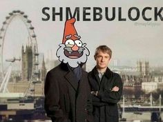 Shmebulock Gnomes by Imaplatypus on deviantART.----- the Gravity Falls fandom out crazied the Sherlock fandom. Bd Art, Fall Memes, Fandom Crossover, Marvel, Star Vs The Forces Of Evil, Force Of Evil, Comic, Superwholock, Gnomes
