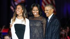 """In the Obama family's final hours in the White House they relayed farewell messages of gratitude to the American people and described their post-presidency plans. """"It's been the honor of my life to serve you. You made me a better leader and a better man."""" """"I won't stop; I'll be right there with..."""