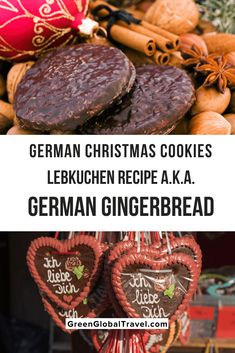 German Christmas Cookies, German Cookies, Holiday Desserts, Holiday Treats, Christmas Travel, Christmas Markets, Baking With Honey, Different Recipes, Foodie Travel
