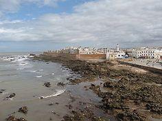 Essaouira - The portuguese city across the Mediterranean. Wouldn't advise the beach =P