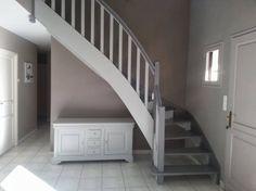Maison de Jérôme et Laetitia: Aménagement meuble sous escalier ...