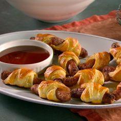 Martha Stewart breakfast sausage rolls - Friday breakfast club idea