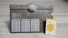 Boîte d'allumettes avec l'Insta'enveloppes de Stampin'Up!