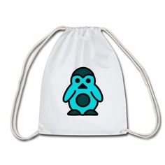 Geschenke Shop | Pinguin - Turnbeutel Baby Accessoires, Shops, Drawstring Backpack, Backpacks, Bags, Fashion, Sports Activities, Men And Women, Gymnastics