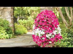 Cómo crear una torre de flores