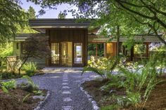 'Zen-Like' Midcentury with Puget Sound Views Asks $1.9M