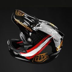Motocross, Troy Lee, Helmet Design, Motorcycle Helmets, Airbrush, Mtb, Horse, Iron, Bike
