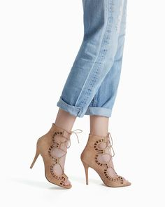 Obsessing over these Alaia-esque heels