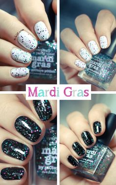 Picture Polish Glitter Series // Splash, Mardi Gras et Gene Doll | PSHIIIT