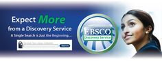 EBSCO Discovery (aka Multisearch) is an easy but powerful way to access nearly all of our information resources (including Albert, Web of Science, Project Muse and more) from a single search box.