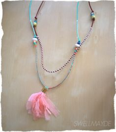 swellmayde: DIY tassel necklace