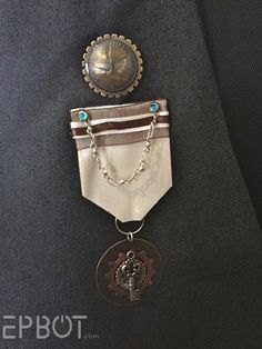 Cute DIY Steampunk medal idea