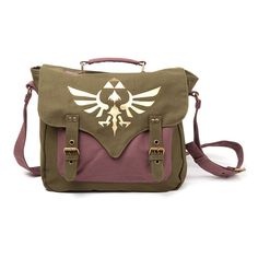 The Legend of Zelda canvas messenger bag official