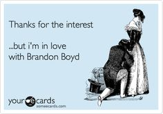 Whoever made this E-Card must have had me in mind. Spot on!