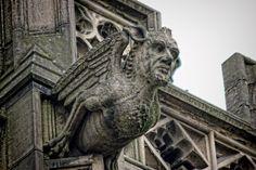 マンチェスター大聖堂のガーゴイル