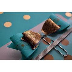Big Paperclip Planner Bow