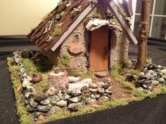 Handmade New England fairy cottage by Abizarrebazaar on Etsy, $95.00