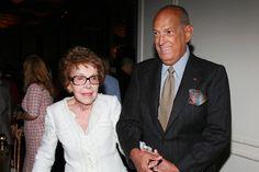 Oscar de la Renta and Nancy Reagan, 2011