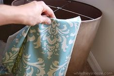 While They Snooze: How to Cover an Ugly Light Fixture Room Lights, Being Ugly, Light Fixtures, Home Improvement, Diy Projects, Make It Yourself, Cover, Blog, How To Make