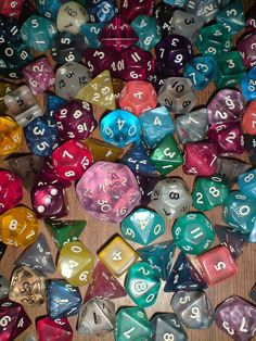 This would be a cool stocking stuffer/small gift. Oly cards and comics and the internet have lots of cool weird sets of dice you can buy. I will try to find something more specific.
