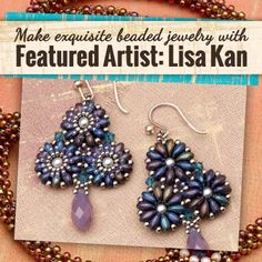 Featured Artist: Lisa Kan - Learn how to bead beautiful jewelry! | InterweaveStore.com
