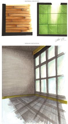 | Marker Rendering 2012 | by Lotos Chen, via Behance