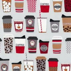 Laurie Wisbrun - Metro Cafe - Cups o Plenty in Hazelnut Apron fabric for my aprons.