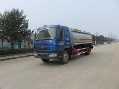 chemical oil tanker truck