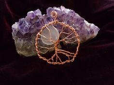 Healing Tree of Life Pendant. $29.00, via Etsy.