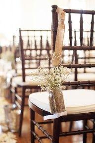 cowboy wedding table decor - Google Search