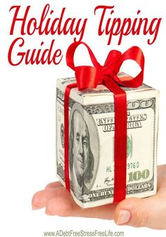 Confused over holiday and Christmas tipping?  Not sure you can fit everyone into your holiday budget?  Boy do we understand!  Who should you tip  and how much is a complicated issue and one that can clearly break the bank.  Use our guide to help!