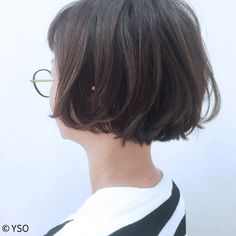 Pin on ヘアスタイル Fringe Hairstyles, Boy Hairstyles, Short Hair Cuts, Short Hair Styles, Hear Style, Kawaii Hairstyles, Pelo Bob, Cute Haircuts, Hair Arrange