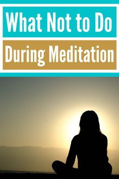 Hard to concentrate during meditation? In this article, you'll learn how to meditate? what do you need to do when you are facing meditation distractions? and you'll find out some powerful tips about mindfulness meditation for beginners. Read more to discover what not to do during meditation? or save the pin for later.