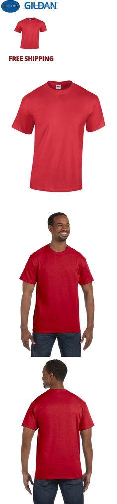 f5968883 Shirts 50976: 100 Gildan T-Shirts Red Bulk Lot S-Xl Wholesale 5000