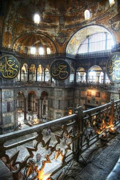 Hagia Sophia is a great architectural beauty and an important monument both for…
