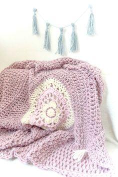 Bohemian... Dreams... blanket... 1... 100% wool by byALLAmade