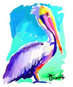 Golden Hour Pelican Artwork: Beach Decor, Coastal Decor, Nautical Decor, Tropical Decor, Luxury Beach Cottage Decor