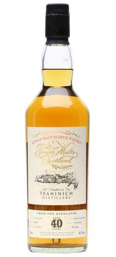 Teaninich 1973 40 year old highland single malt scotch whisky