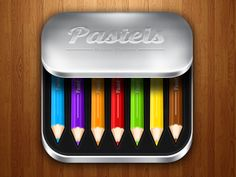 Pastelsdribbble- another nice art related icon with one of my favorite mediums- the simplisity of the design works well with the chibi pencils. The right amount of highlights to make the box look nice and shiny.
