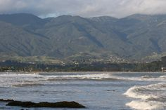View from Campus Point, UCSB, Goleta